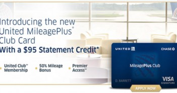 United Mileage Plus Club Card